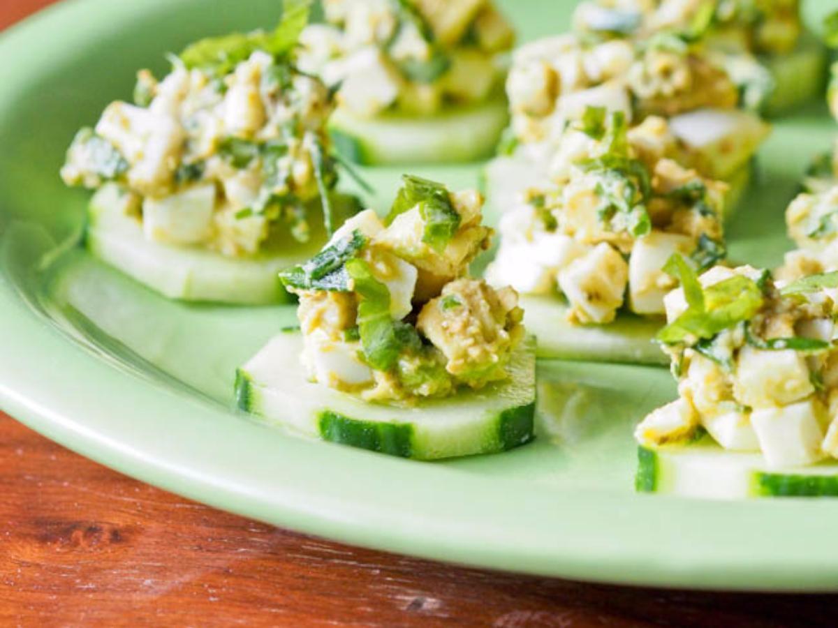 Tuna Egg Cucumber Salad Healthy Recipe
