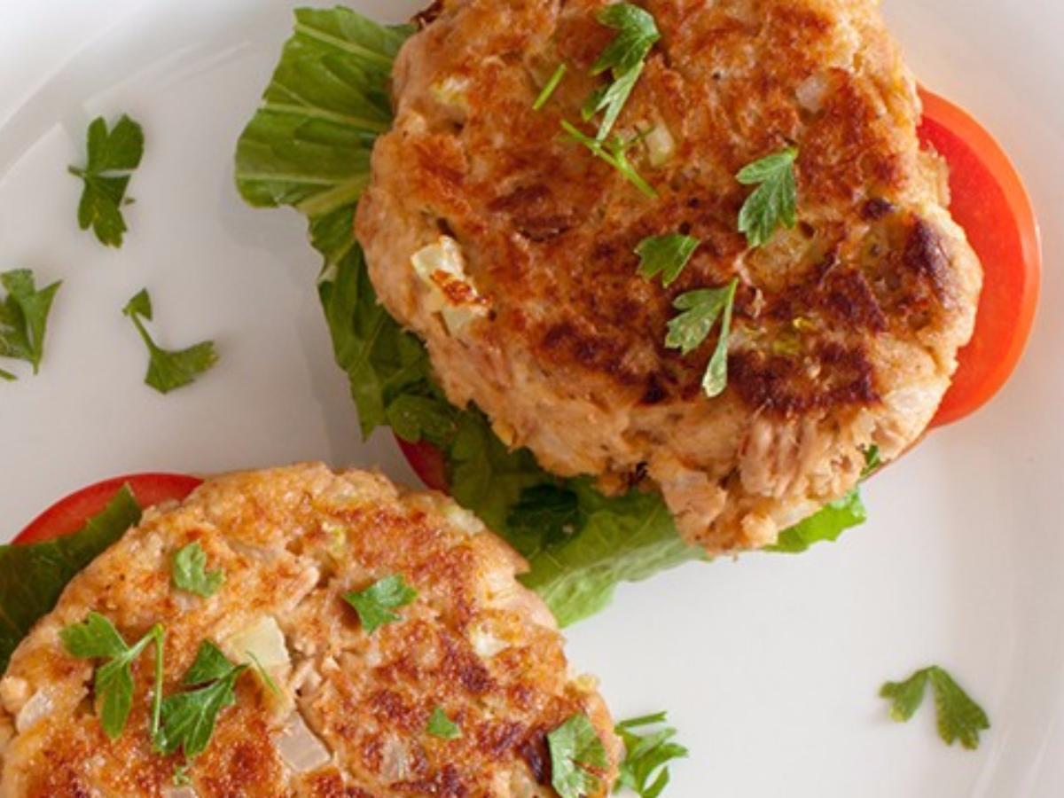 Tuna Melt Patties Healthy Recipe
