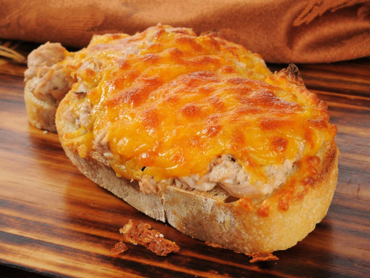 Tuna Melt Healthy Recipe