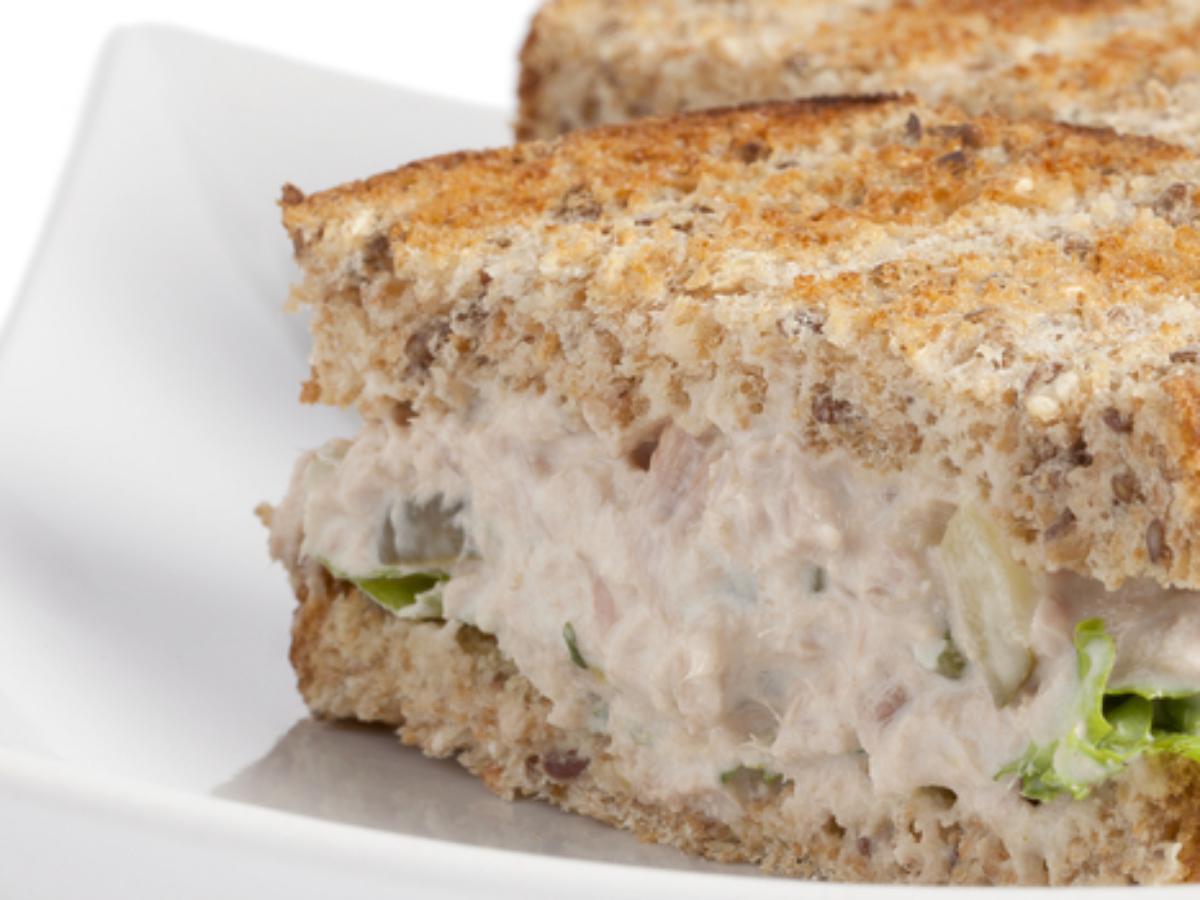 Tuna salad sandwich Healthy Recipe