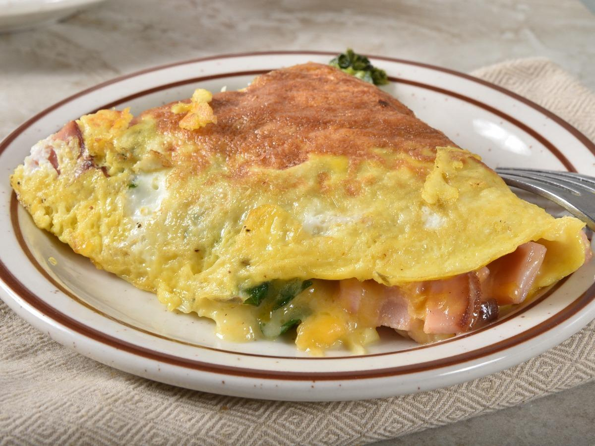Turkey and Cheese Omelet Healthy Recipe