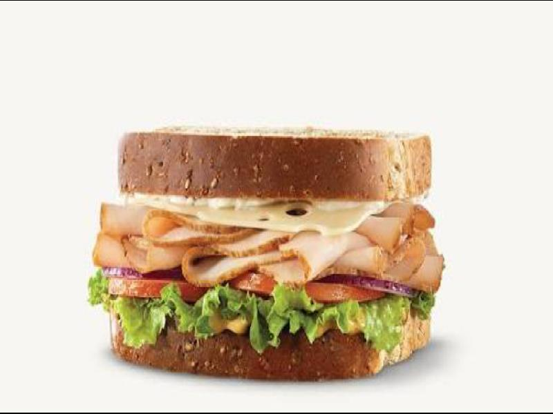 Turkey and Swiss Sandwich Healthy Recipe