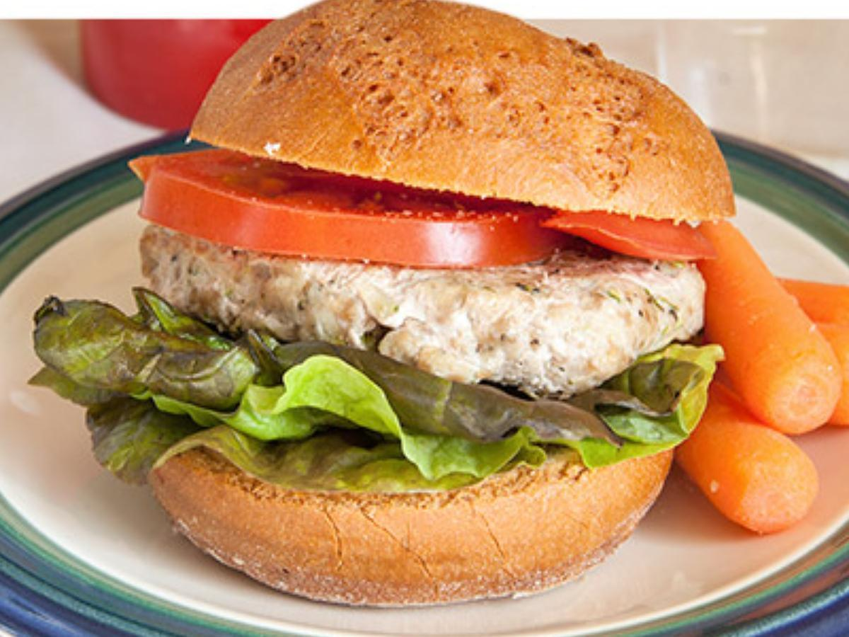 Turkey Burger Healthy Recipe