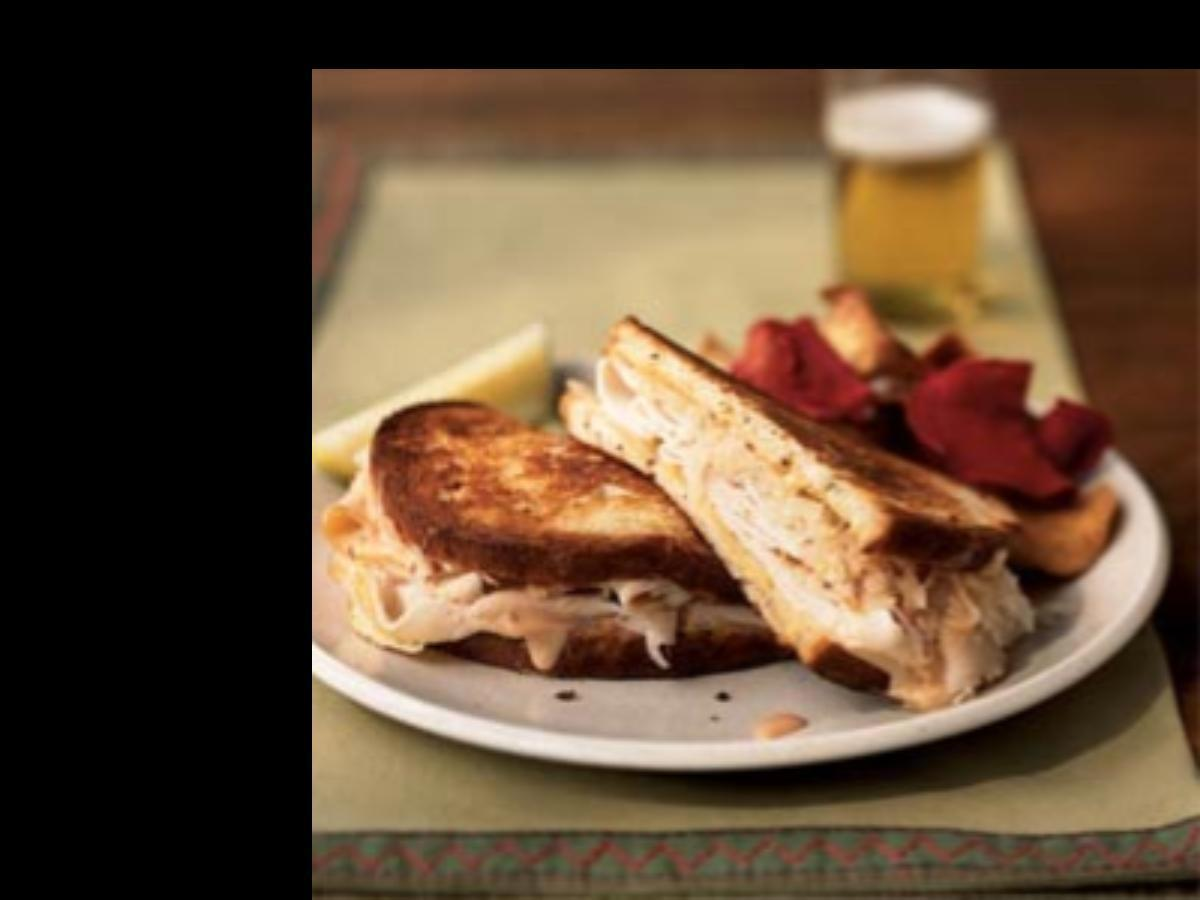 Turkey Reuben Sandwich Healthy Recipe