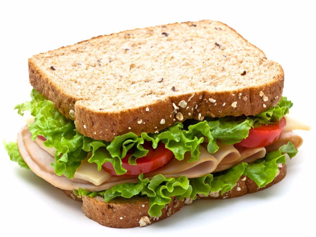 Turkey Sandwich Healthy Recipe