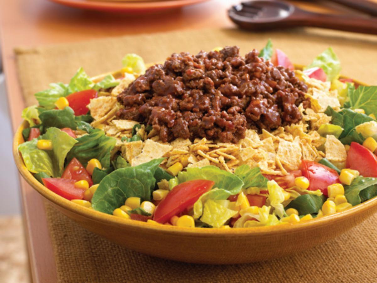 Turkey Taco Salad Healthy Recipe