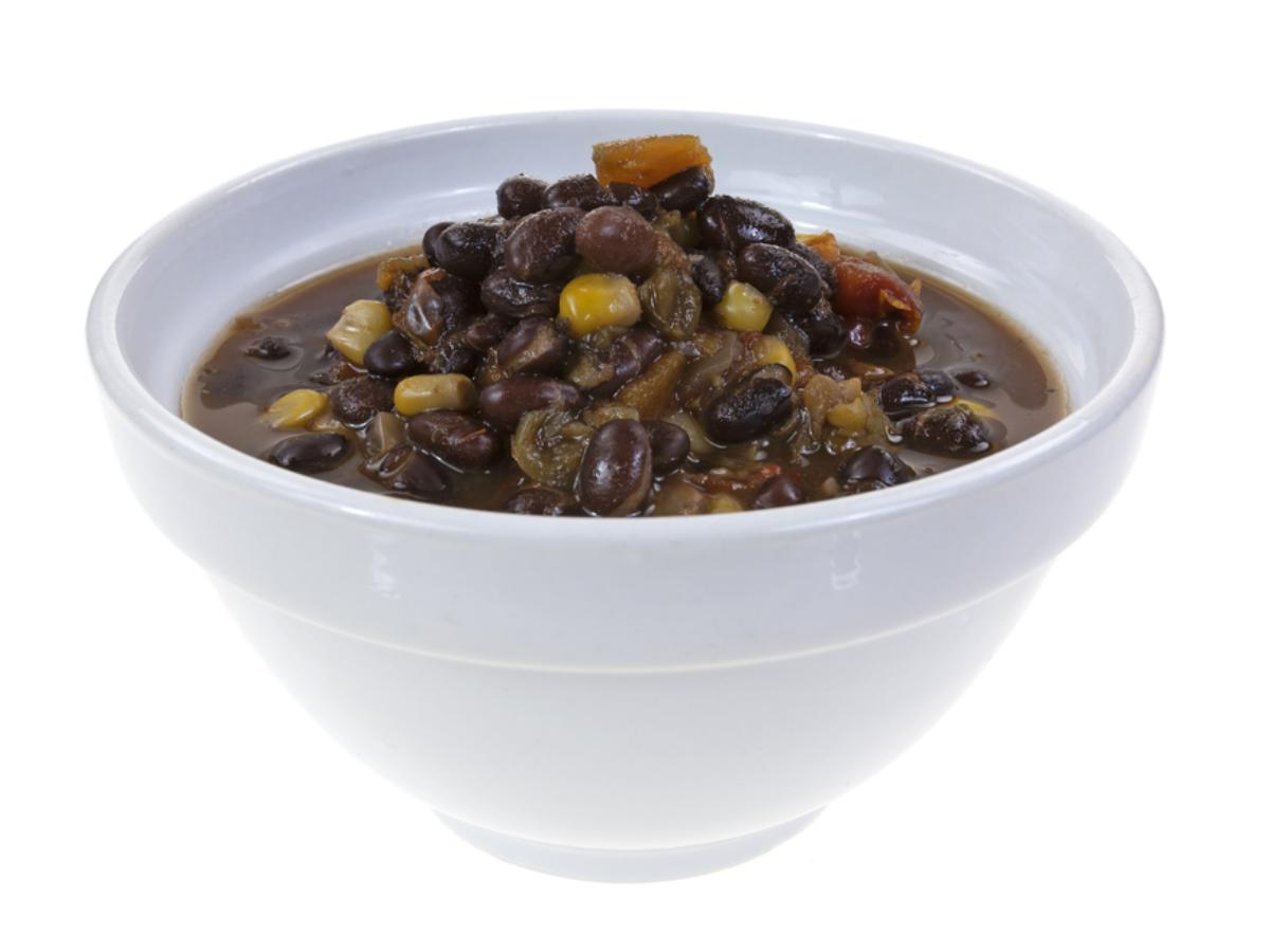 Vegan Black Bean Soup Healthy Recipe
