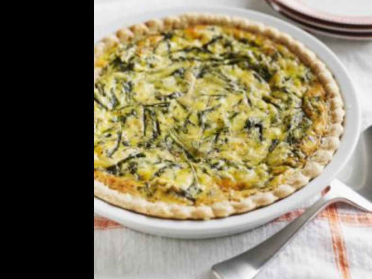 Vegan Broccoli Quiche Healthy Recipe