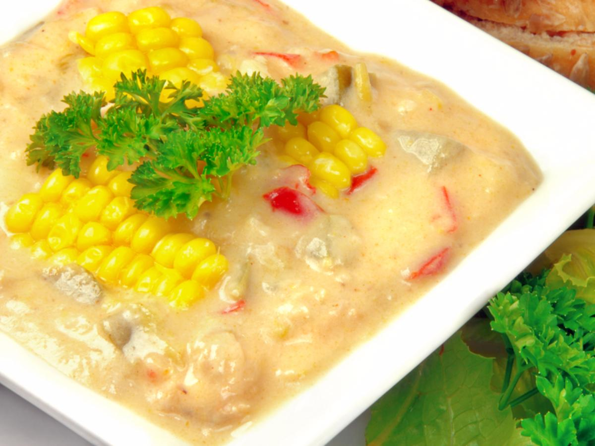 Vegan Corn Chowder Healthy Recipe