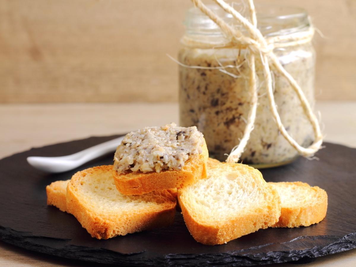 Vegan Mushroom-Cashew Pate Healthy Recipe