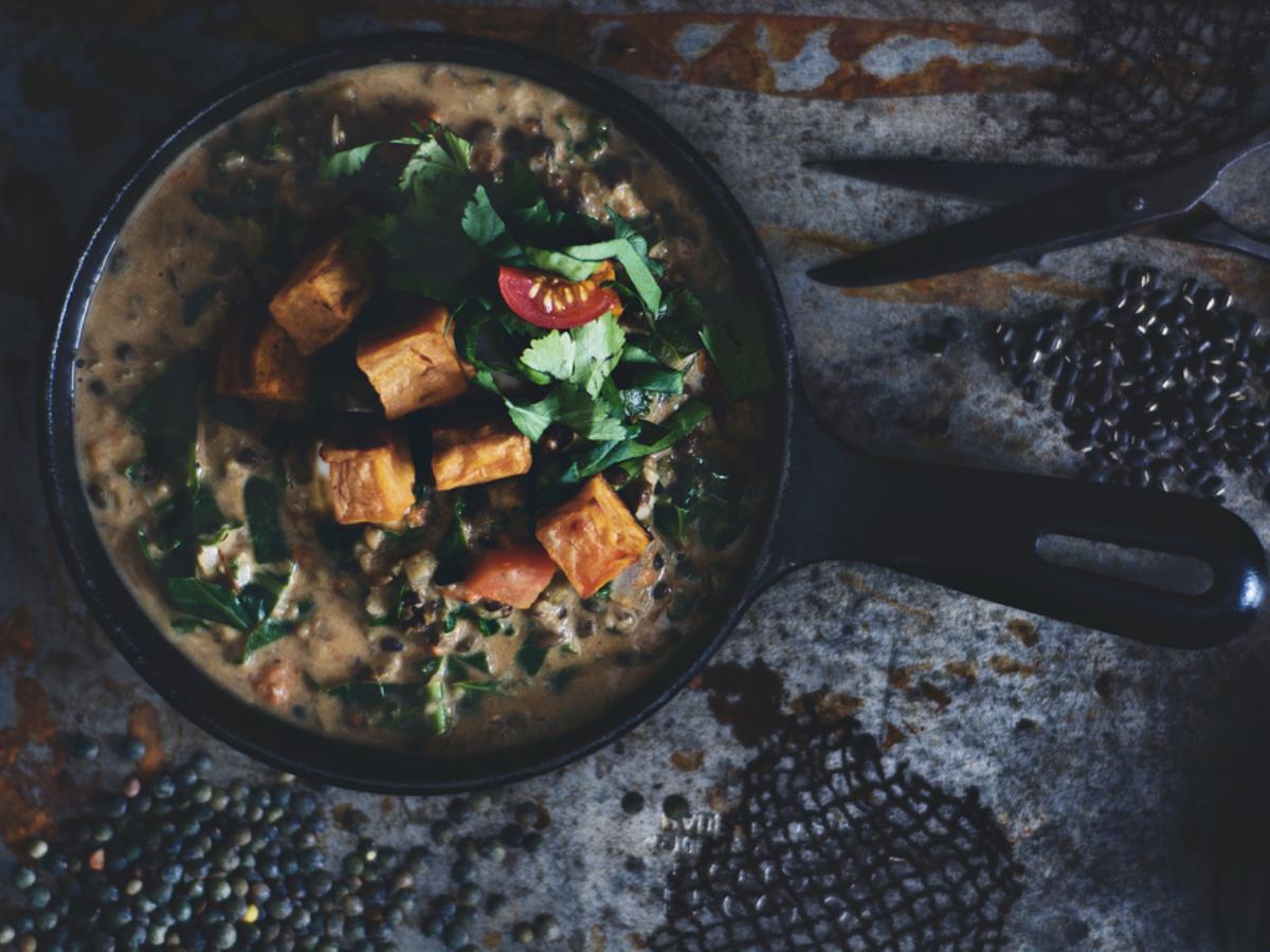 Vegan Peanut and Sweet Potato Stew Healthy Recipe