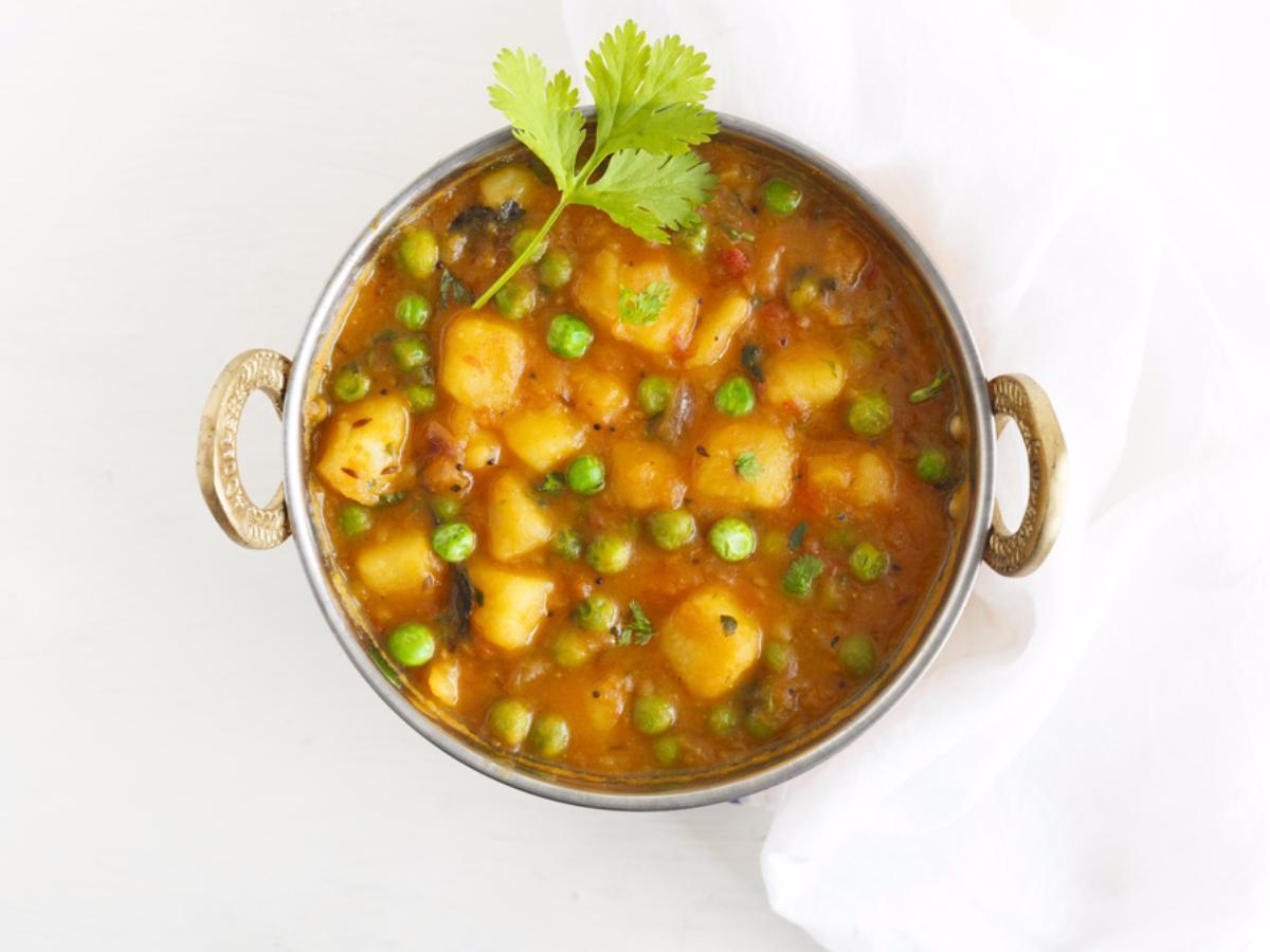 Vegan Potato Curry Healthy Recipe
