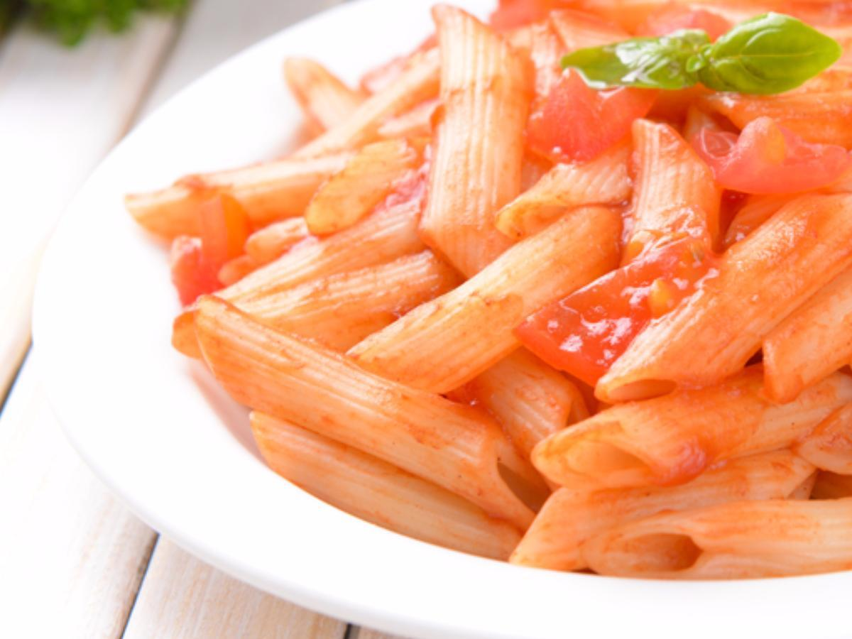 Vegan Roasted Red Pepper Pasta Healthy Recipe