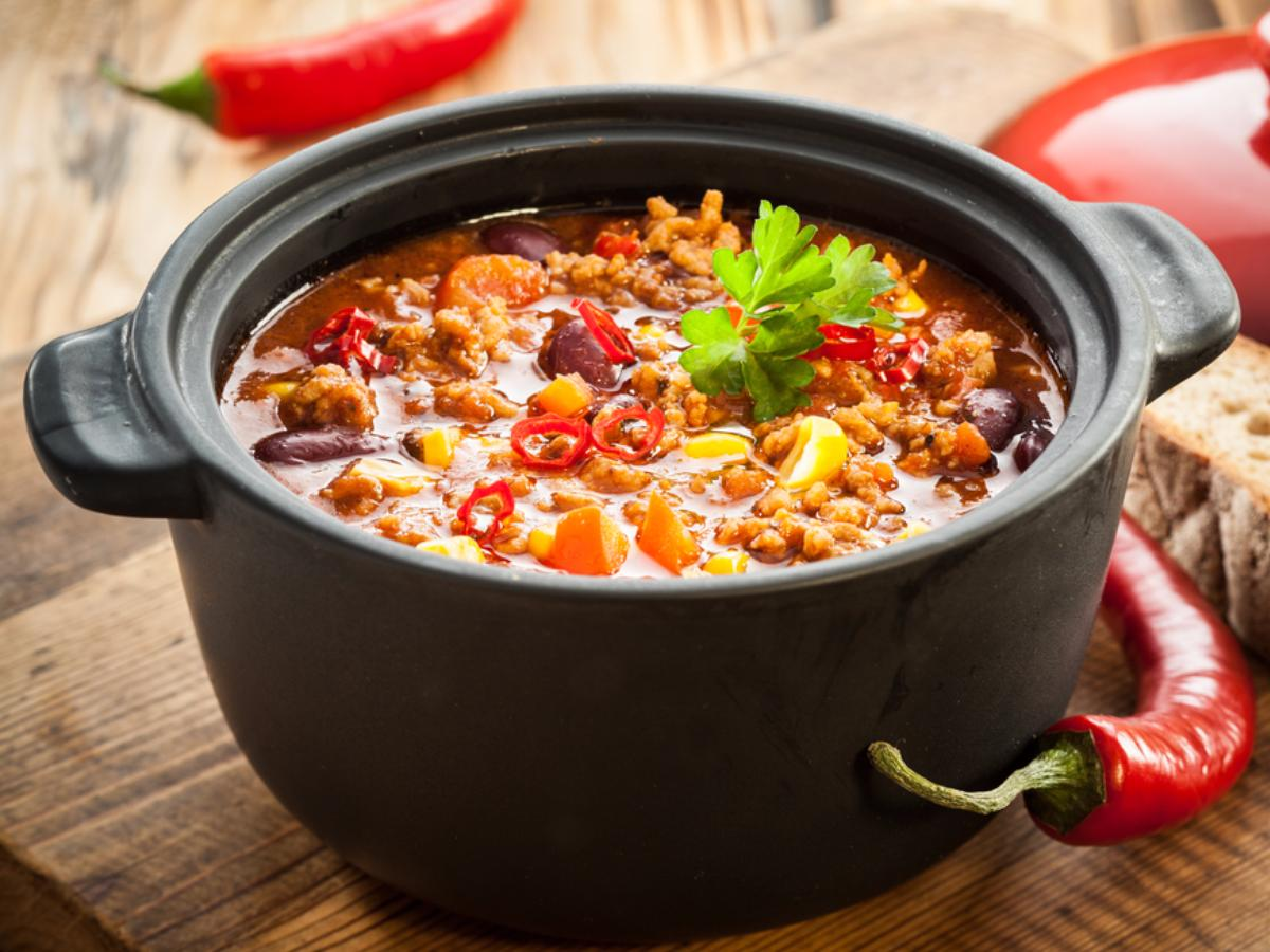 Vegan Tempeh Chili Healthy Recipe