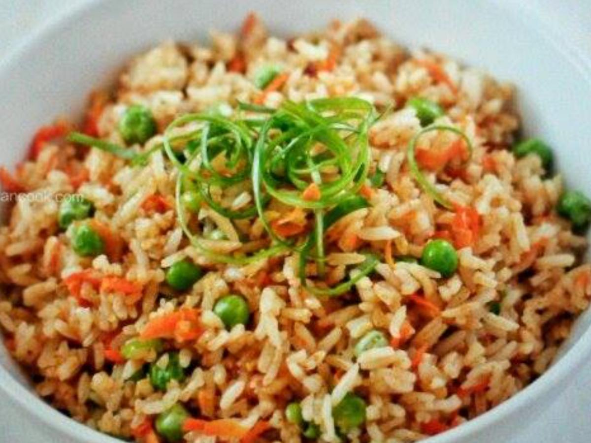 Vegetable Fried Rice Healthy Recipe