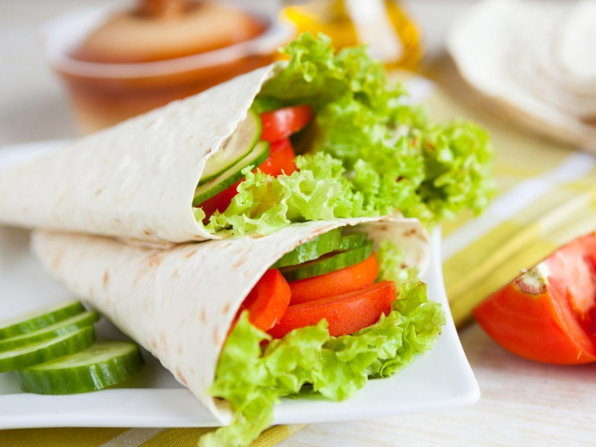 Veggie wrap Healthy Recipe