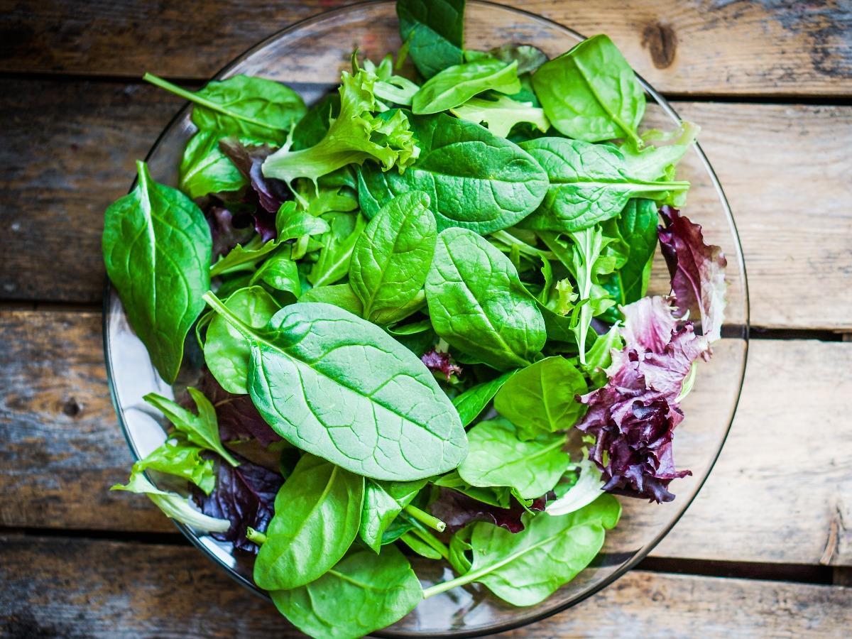 Very Green Salad Healthy Recipe