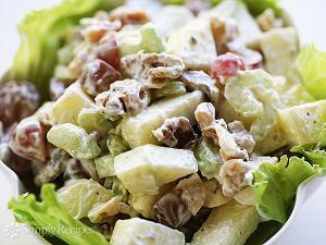 Waldorf-ish Salad Healthy Recipe