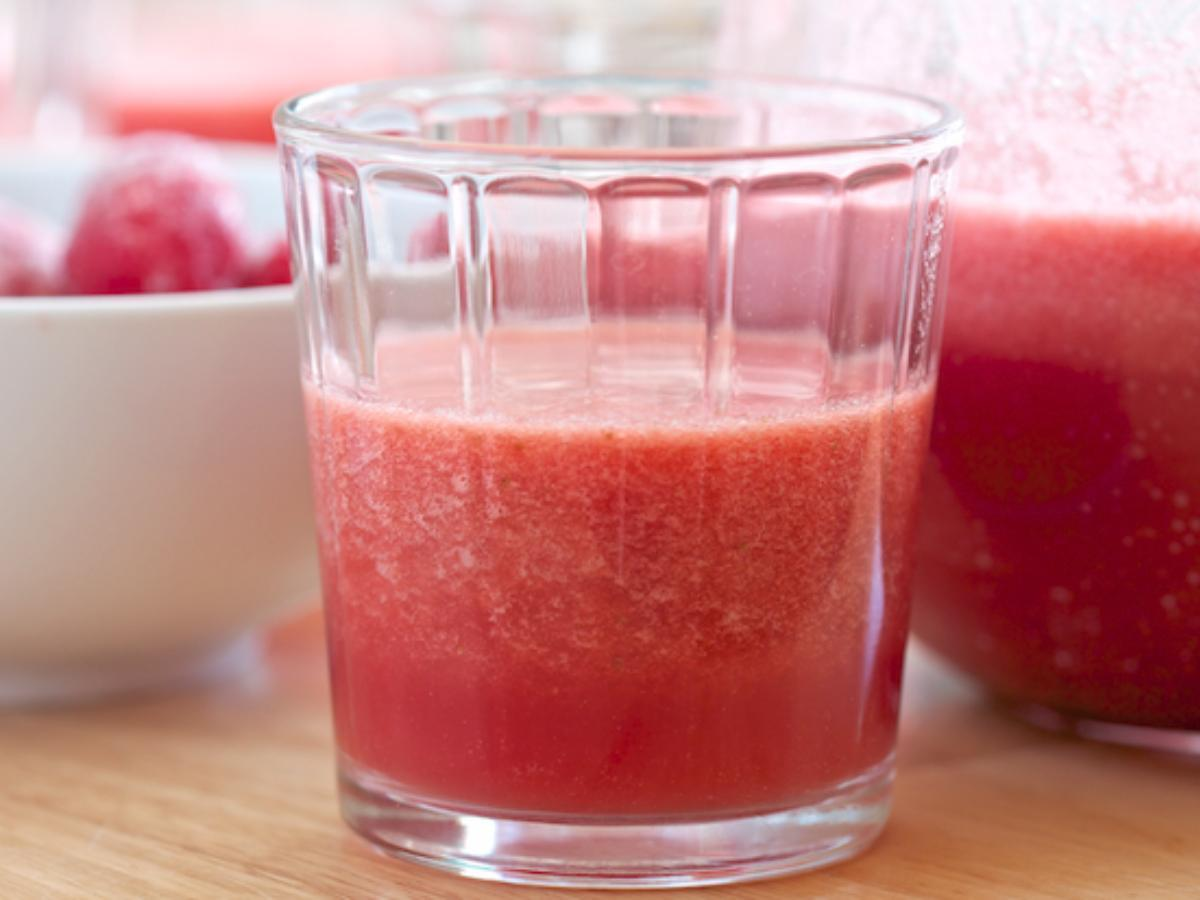 Watermelon Acai Smoothie Healthy Recipe