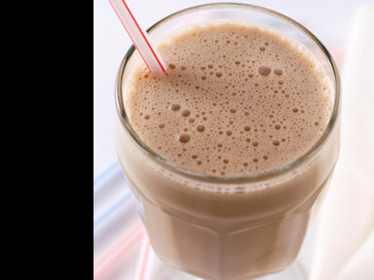 Yogurt Chocolate Banana Shake Healthy Recipe