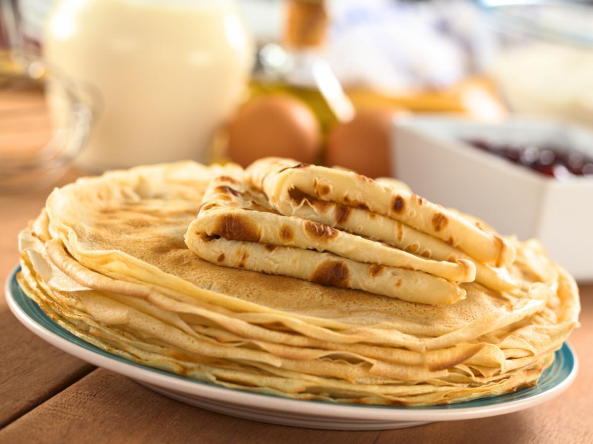 Yummy Crepes Healthy Recipe