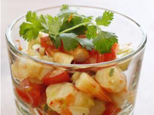 Zesty Lime Shrimp Avocado Salad Healthy Recipe