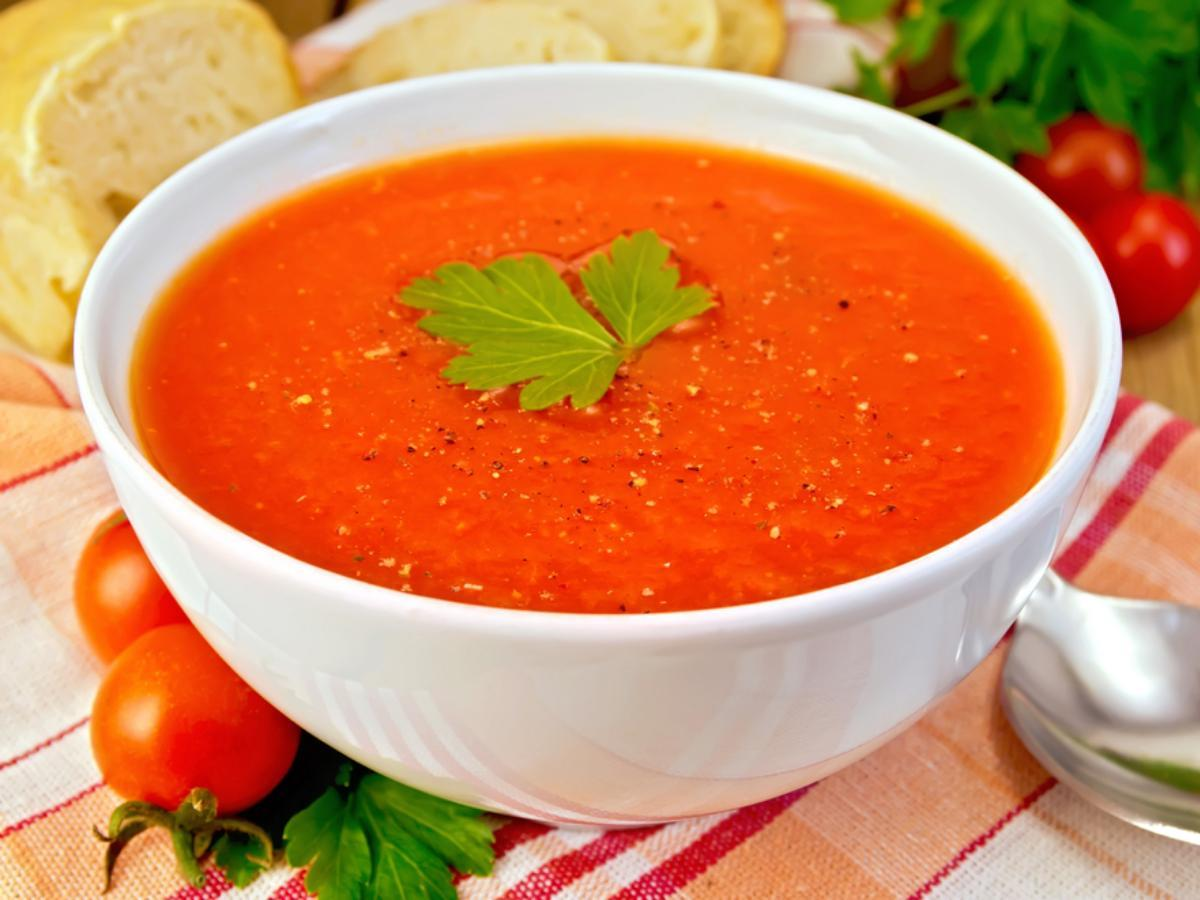 Zesty Tomato Soup for One Healthy Recipe