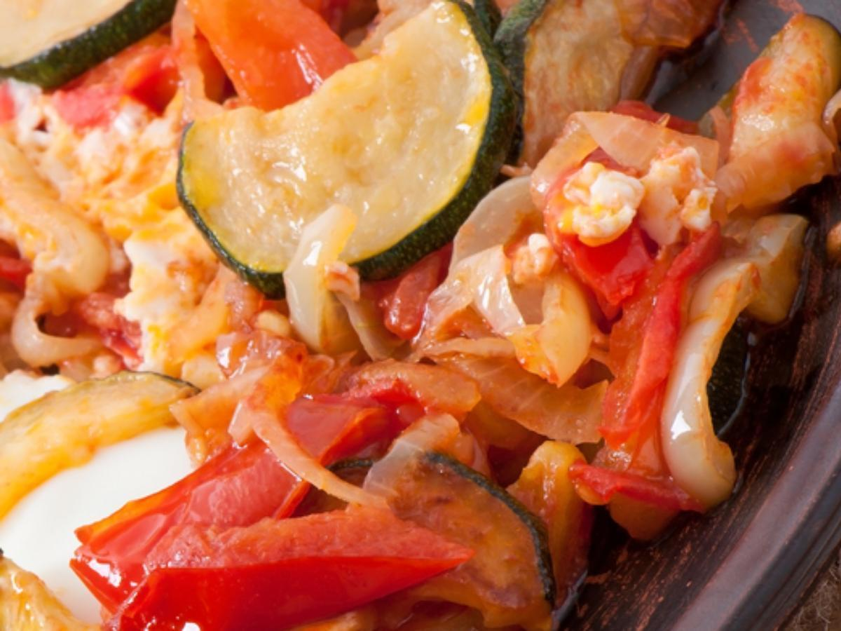 Zucchini for Lunch Healthy Recipe