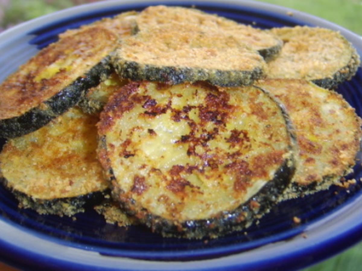 Zucchini Parmesan Crisps Healthy Recipe