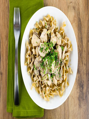 30-Minute Chicken Stroganoff Healthy Recipe