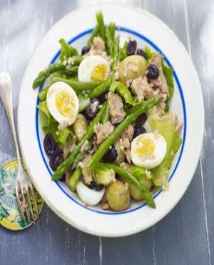 Asparagus Egg Salad Healthy Recipe
