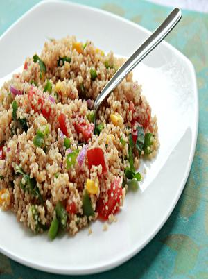 Couscous Peppers Onions Healthy Recipe
