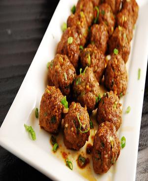 Reduced Fat Meatballs Healthy Recipe