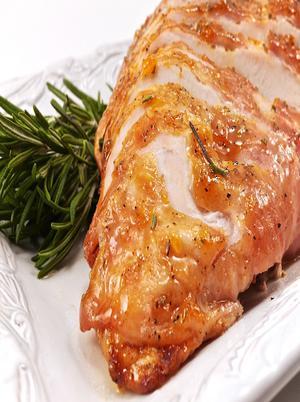 Roast Turkey Breast Chili Sauce Healthy Recipe