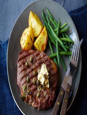 Steak Green Beans Potatoes Healthy Recipe