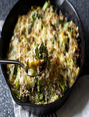 Wild Rice Broccoli Casserole Healthy Recipe