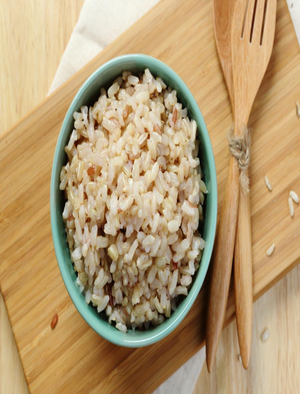 Alton Brown's Baked Brown Rice Healthy Recipe