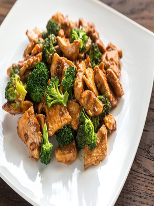 Asian Style Chicken and Broccoli Healthy Recipe