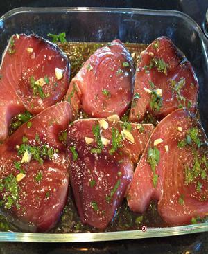Asian Tuna Steaks Healthy Recipe
