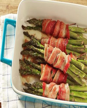 Asparagus Bundles Healthy Recipe