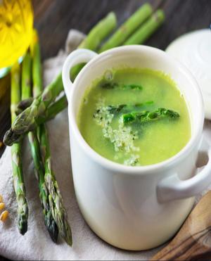 Asparagus Soup Healthy Recipe