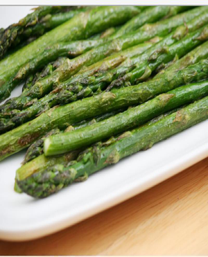 Asparagus with Butter Healthy Recipe