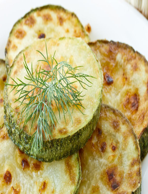 Baked and Dressed Zucchini Healthy Recipe