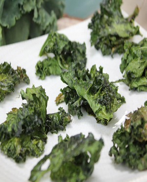 Baked Kale Chips Healthy Recipe