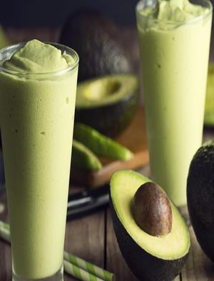 Banana Avocado Power Smoothie Healthy Recipe