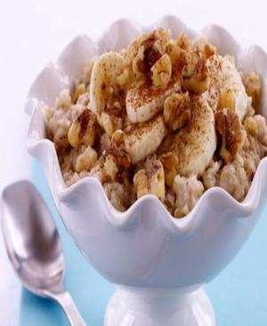Banana Nut Oatmeal Healthy Recipe
