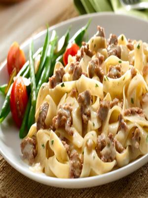 Beef and Mushroom Stroganoff Healthy Recipe