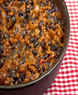 Beef Chili with Beans Healthy Recipe