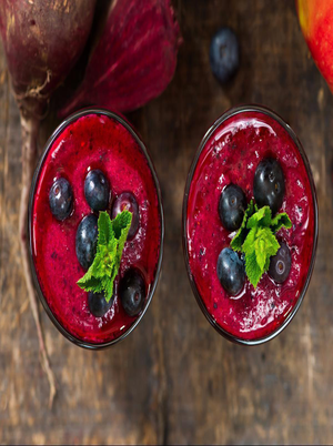 Beet and Berry Smoothie Healthy Recipe
