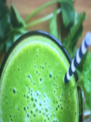 Berry Almond Green Smoothie Healthy Recipe